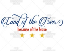 Popular items for because of the brave on etsy