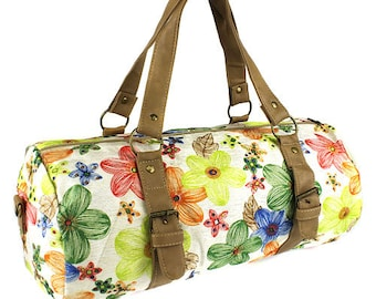 Monogram Flower Duffle Bag