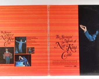 The Swingin Moods Of Nat King Cole Vintage 2xLP Gatefold