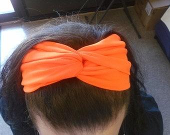 Women Stretch Twist Headband Turban Sport Yoga Wrap Head Band