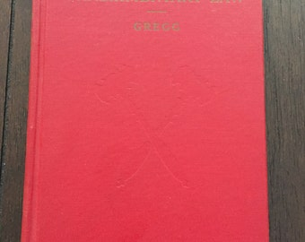 Parliamentary Law, Gregg, vintage book