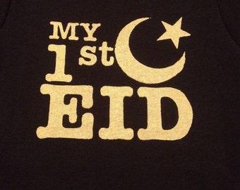 My First Eid, Muslim Baby Onesie