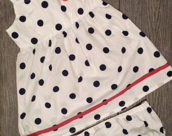 Monogrammed Girl Dress