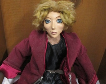 "OOAK Art Doll ""Evan"""