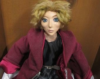 """OOAK Art Doll """"Evan"""""""