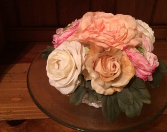 Rustic Flower Cake Topper