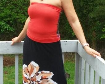 Black Maxi skirt 016