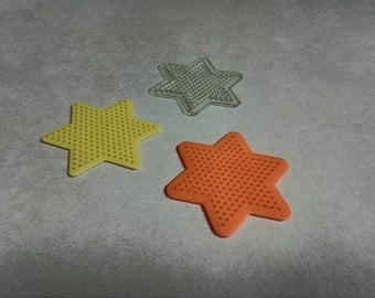 Star Shaped Perler/Hama Bead Board for Fusing Beads