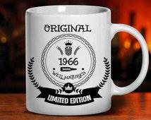 49th birthday, birthday mug, 1966 birthday, 49 years old, birthday gift, gifts for dad, mom, men, women, tea mug, coffee mug, mugs, party