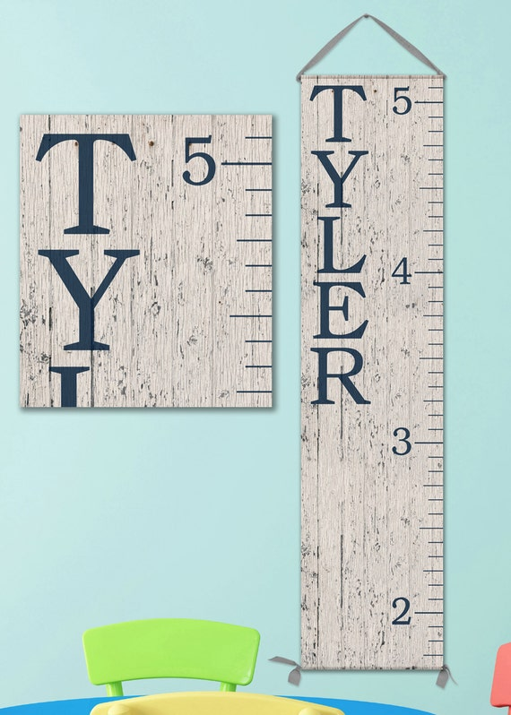 6 foot wall ruler oversized canvas growth chart ruler wooden height chart wood