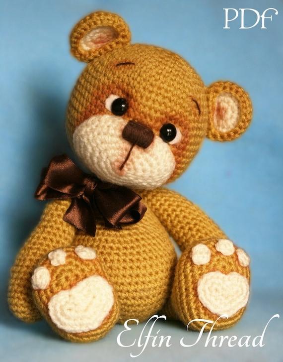 Elfin Thread - Teddy Bear Amigurumi PDF Pattern ( Bear ...