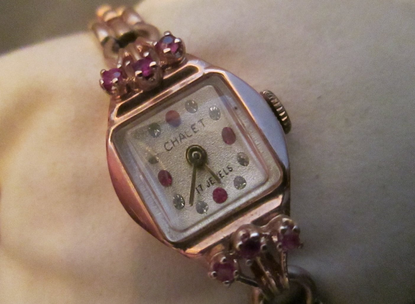 Vintage Chalet 14k Rose Gold And Diamonds And Rubies Manual