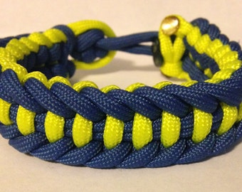 Custom Jagged Ladder Paracord Bracelet