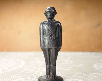 Vintage Lead Toy - Lead Soldier - Soviet Toy - War Game  - Collectors Toy -  t23