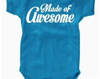 Made of Awesome Onesie