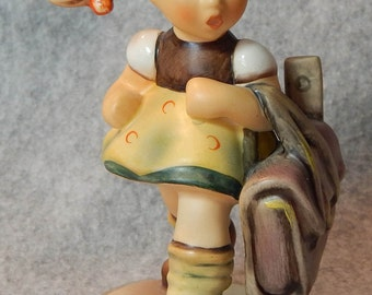 Hummel Figurine, School's out, 1st issue, mold 538, TMK 7