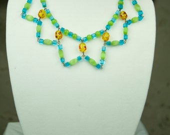 Spring Glass Necklace
