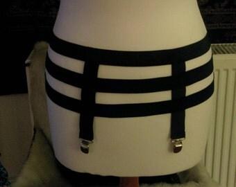 Elastic Garter belt