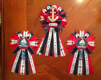 Nautical Mommy To Be Pin
