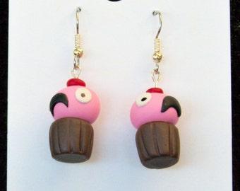 Lulu's Cupcakes Earrings