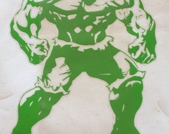 Incredible HULK Car or Wall Vinyl Decal