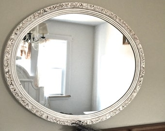 Vintage Hand Painted Mirror