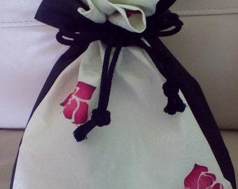 Japanese Vintage Kimono Kinchaku Bag