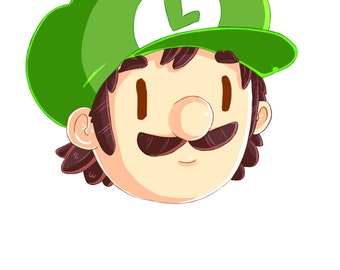 Mario and Luigi Stickers