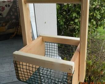 Small garden gathering basket, egg gathering basket, flower basket