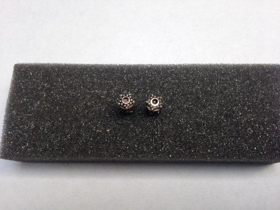 Copper Star Stud Earrings