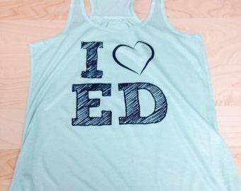 I Love Ed Tank Top