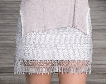Fine Crystal Skirt