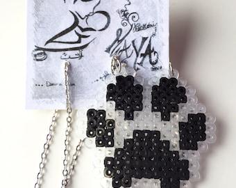 Necklace paw Hama beads