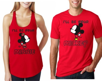 I'll Be Your Mickey / Minnie Magical Couple Shirts