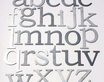 White Metal Letters Custom Metal Letters  Etsy Inspiration