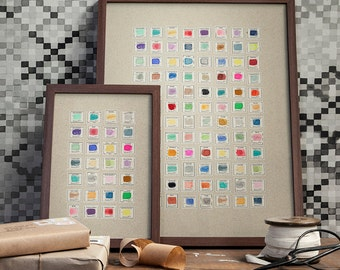Stamp Collection art print