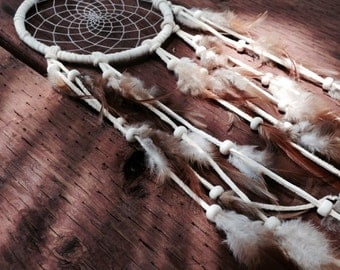 5 Inch Leather Dream Catcher