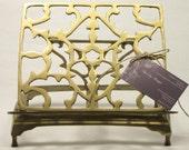 Vintage Brass Adjustable Bible/Missal Stand