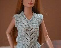 """Sleeveless top for 16"""" dolls, Tonner Tyler, Sydney or similar size"""