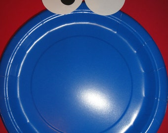 Custom Cookie Monster Plates