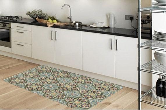Vinyl-Fußmatte Teppich Küche Teppich Fußmatte Pvc-Teppich