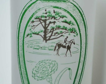 1979 Belmont Stakes Glass - Great Shape