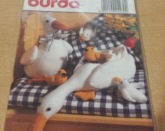 Burda #4230 Soft Toy Animals (Ducks) Pattern