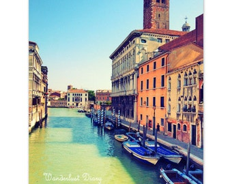 Venice Travel Photography, Venice Wall Art, Venice Print, Travel Photography, European Photography, Fine Art Print, Wall Art, Venice Canals