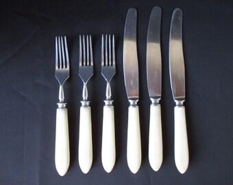fork and knife set etsy