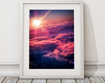 Above the clouds | Sky | Plane | Travel photo art print | Melbourne photographer