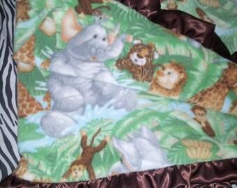 Jungle Theme Blanket