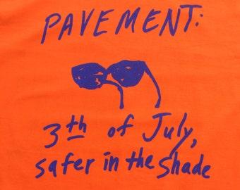 Original Pavement 1991 Vintage tour t shirt