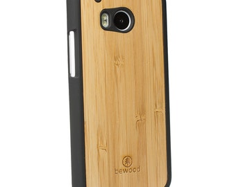 HTC M8 Real Bamboo Wood Case - Made in Poland