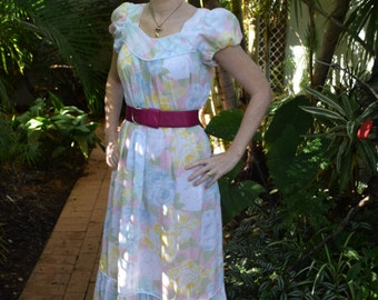 Hawaiian vintage dress